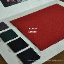 Британский красный пальто тяжелая шерстяная ткань импорт из Великобритании
