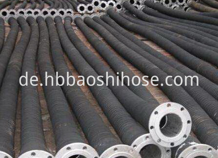 Flexible Flanged Sludge Discharge Pipe