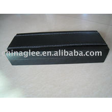 exclusive leather with plastic pen box