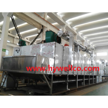Apple Chips Pengering Konveyor Stainless Steel