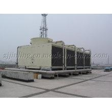 CTI-zertifizierter Querstrom-Rechteckkühlturm JNT-1000 (S) / M