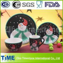 Keramik-Porzellan-Dinner-Set für Weihnachtsdekoration (TS-009)