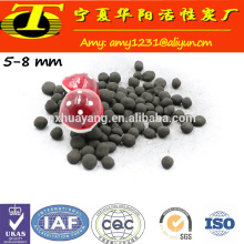 Spherical activated carbon in water treatment