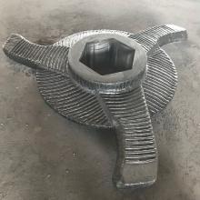 Lame de rotor de broyeur de frittage revêtue de carbure de chrome