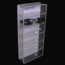 Bespoke Acrylic Sunglasses Display Case, Lucite Eyewear Floor Display Stand