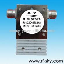 210-226MHz rf VHF coaxial isolateur circulateur