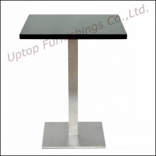 Durable Steel Base Restaurant Marble Dining Table (SP-RT130)