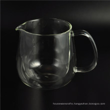 2016 Tansparent Double Wall Glass for Iced Coffee and Tea
