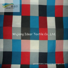 75DX200D Printed Twill Polyester Microfiber Peach Skin Fabric For Beach Shorts