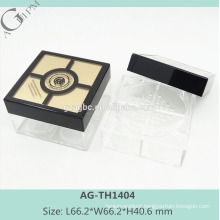 AG-TH1404 AGPM Square Elegant Custom Empty Loose Powder Case