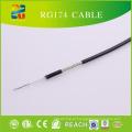 RF cabo coaxial de baixa perda Rg174