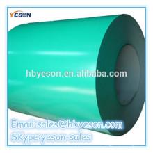 Bobina de acero GI prepintada / chapa de acero galvanizado revestida de color PPGI / PPGL en bobina