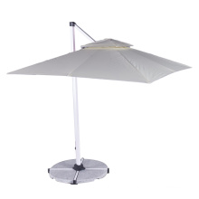 high quality 2.5m-3m large size  square roof top  royal roman aluminum  umbrellas outdoor