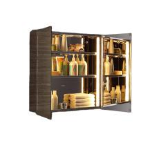Supplier Modern bathroom vanity Led mirror cabinet Bathroom cabinet with mirror