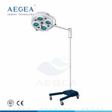 AG-LT010A-2 Movable hospital simple surgery treatment four bulbs medical ce shadowless lamp
