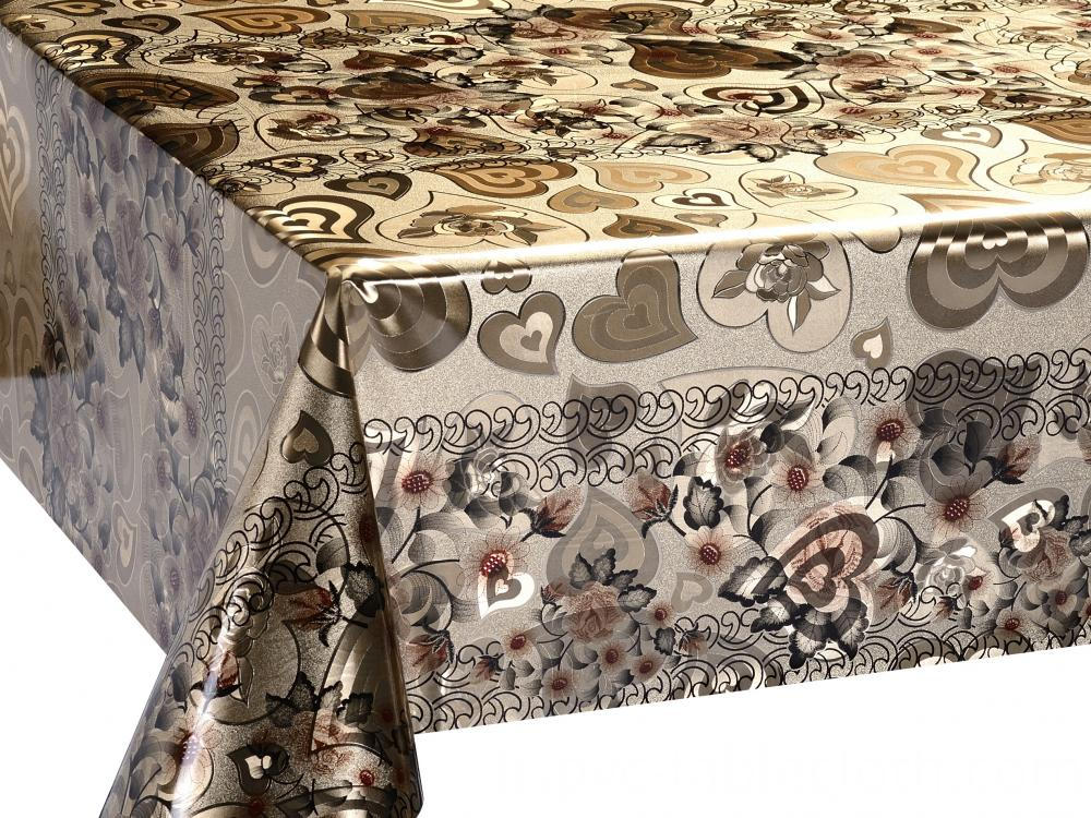 Double Face Silver Gold Tablecloth 4