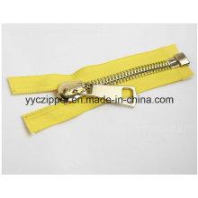 8# Open End Metal Zipper Big Size Zipper