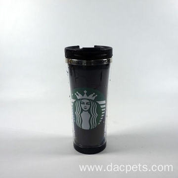 Stainless Steel Inside Plastic Outside Starbucks Mug