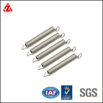 Adjustable carbon steel extension spring