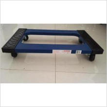 """Four-Wheels Plastic Moving Pallet Tool Cart (TC1987) with 3"""" Swivel Casters"""