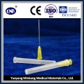Aguja de inyección médica desechable (20G), con Ce & ISO aprobado