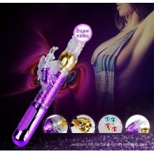 6 Core Design von Butterfly Rotation Dildo Vibrator für Frauen
