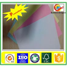 Высокое Качество Цветной Печати Документная Бумага