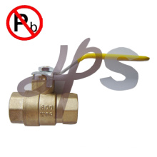 NSF low lead brass 600WOG brass ball valve