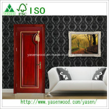 China High Quality Luxury French Style Solid Wood Door