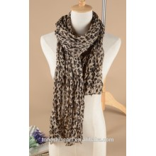 Latest Women's leopard printed rectangle scarf shawl