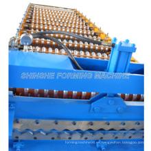 Máquina corrugada de la forma del rodillo de la cubierta