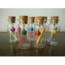 7ml corcho botella y frasco de cristal