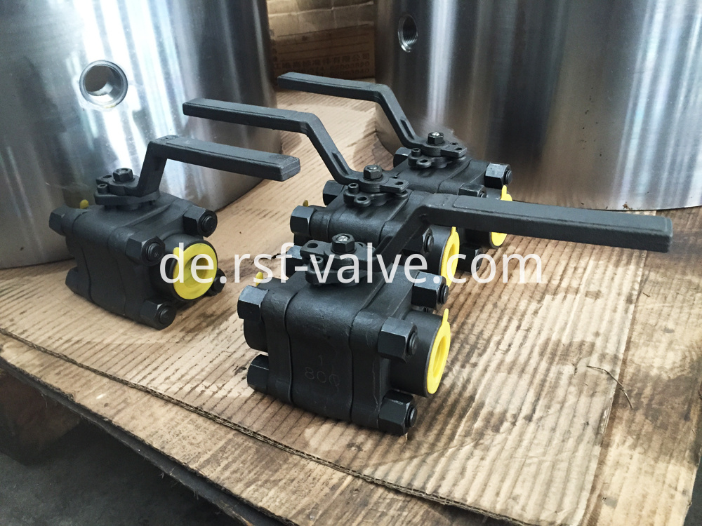 Floating Ball Valve 3pcs Body Class800 1