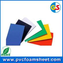 Fabricant noir de feuille de mousse de PVC (taille chaude: 1.22m * 2.44m)