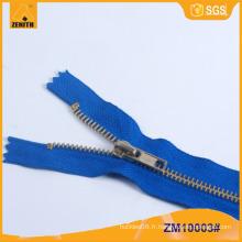 Fermeture à glissière ignifuge ignifuge pour vêtements coupe-feu ZM10003