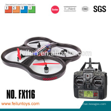 Top grade drone 2.4G 4 channel 6 axis black foam large rc wholesale helicopter