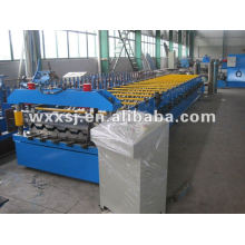 Cladding sheet panel roll forming machine