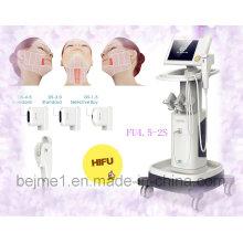 Machine focalisée de rajeunissement de peau de Hifu d'ultrason de forte intensité (FU4.5-2S)