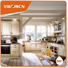 ASKP01 armario de cocina de diseño moderno pvc