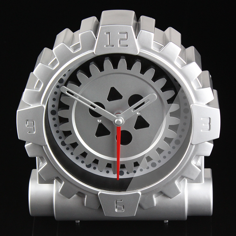 Clock With Gears Exposed