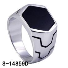 Modelo clássico moda jóias 925 anel de prata esterlina