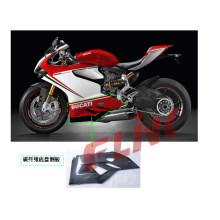 Fibra de Carbono Peças da motocicleta Belly Pan Ducati 1199 Panigale