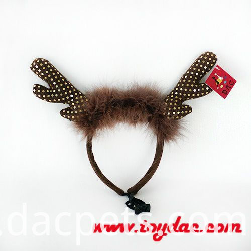 plush elk hairband
