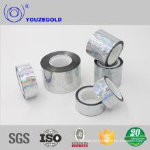 cinta de aluminio de poliéster aliado para conducto flexible con certificados ISO9001