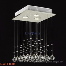 Modern square drop crystal chandelier led light fixture of ceiling 19220