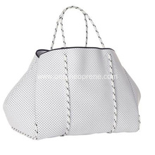 Elegant neoprene perforate beach bags multipurpose