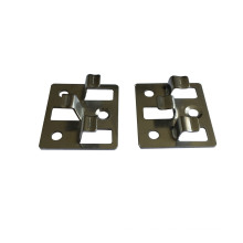 Easy Installation Carbon Steel Black Composite Decking Fasten Clip Floor Clip WPC Deck Accessories