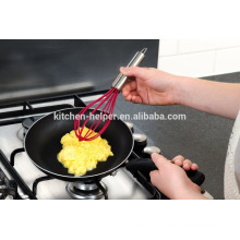 Não stick novo estilo silicone mini batedor de ovo
