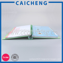 Promotional Custom Paper Note Book For School