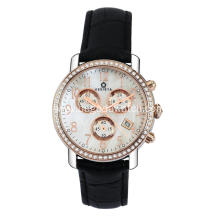 Chronograph quartz watches for women